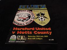 Hereford United v Notts County, 2005/06 [Fr]